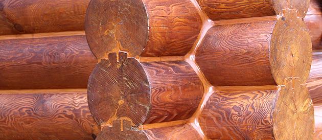 Герметизация швов деревянного дома