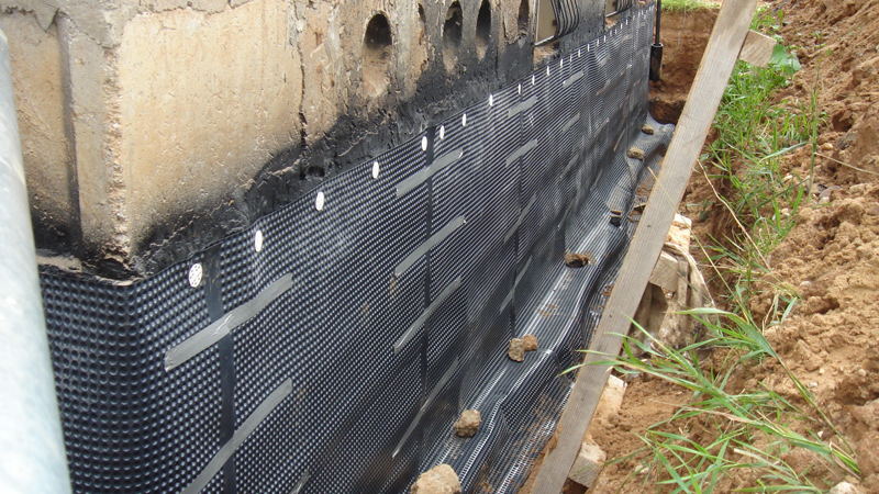 Технология гидроизоляции фундамента