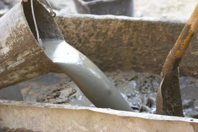приготовление бетонной смеси своими руками