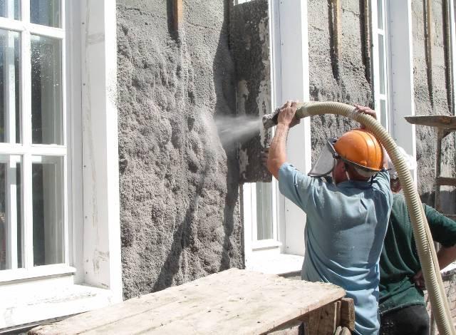 наружное утепление стен эковатой