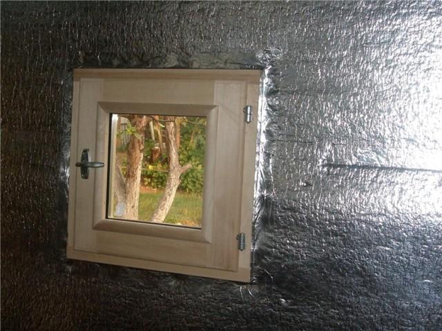 алюминиевая фольга для пароизоляции бани
