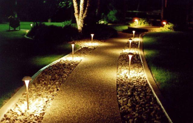 маркировочное освещение дорожки