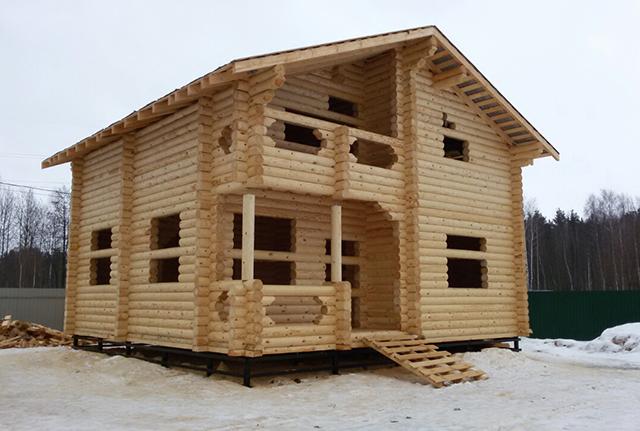 построенный дом от компании марисруб