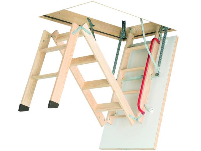 складная лестница на чердак в частном доме