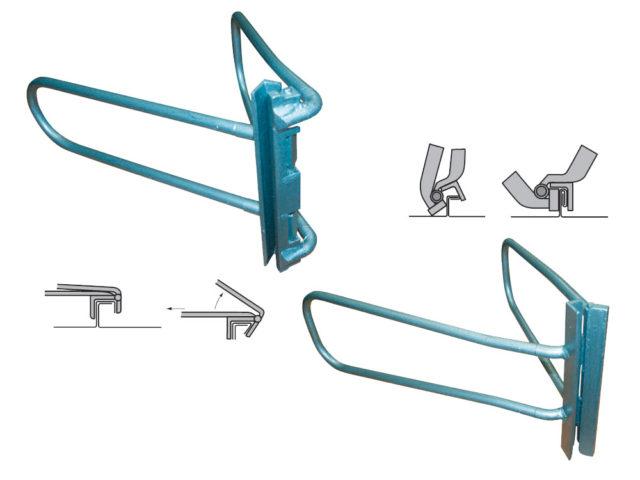 ручной инструмент для закатки фальцевого шва
