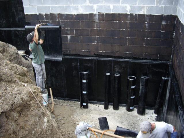 наплавляемая гидроизоляция для заглубленного фундамента