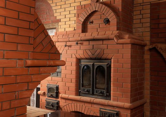 дровяная печь для отопления частного дома