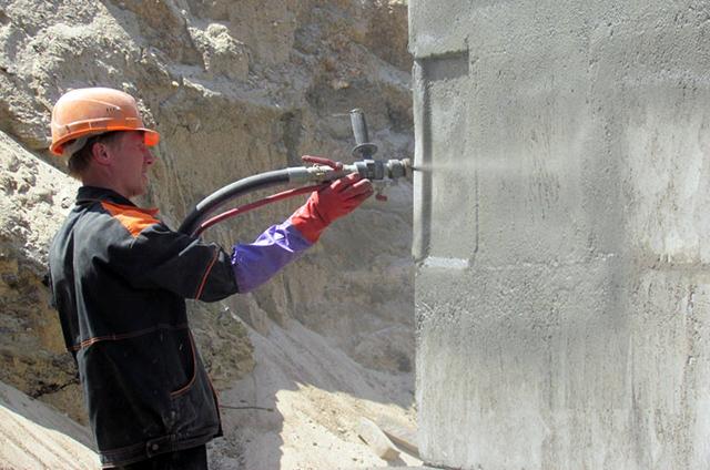 обработка фундамента проникающей гидроизоляцией