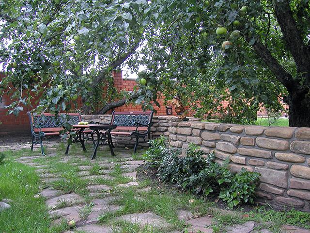 подпорные стены в зоне отдыха