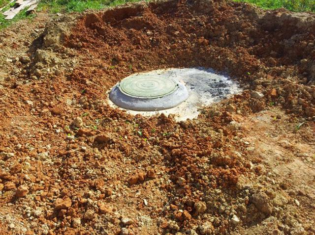 монтаж бетонного кольца для унитаза