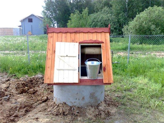 установка колодца на земельном участке