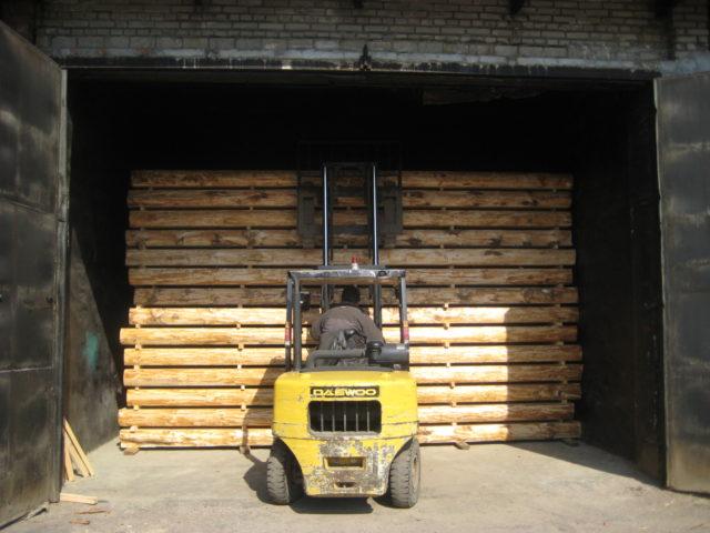 искусственная сушка древесины