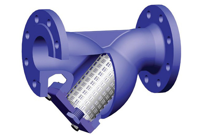 сетчатый фильтр очистки воды