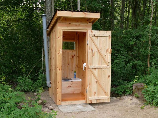 вентиляция для дачного туалета