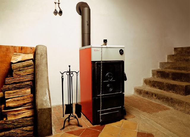 котел на твердом топливе в частном доме