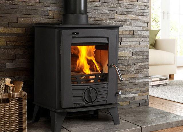 печь-камин для отопления частного дома