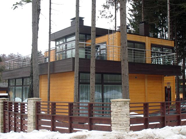 дом в стиле хай-тек