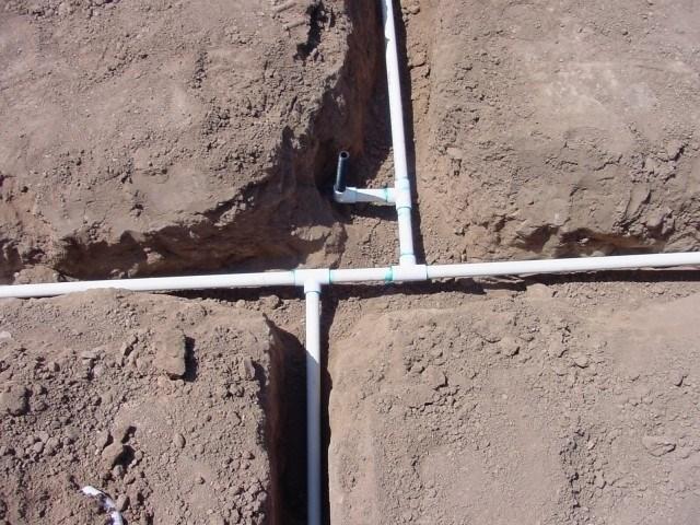 прокладывание водопровода