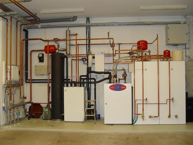 система водяного отопления с естественной циркуляцией в частном доме
