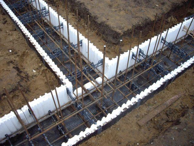 вертикальная арматура в фундаменте