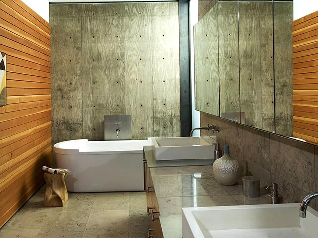 вагонка в ванной комнате