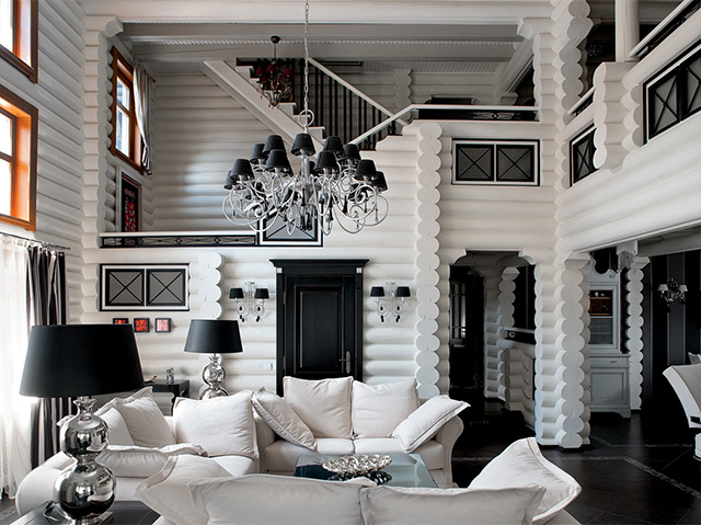 внутренняя отделка дома в стиле ар-деко