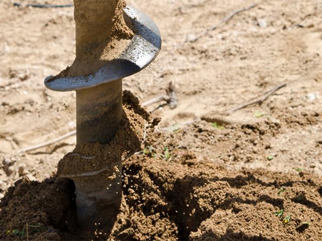 бурение скважины на земельном участке