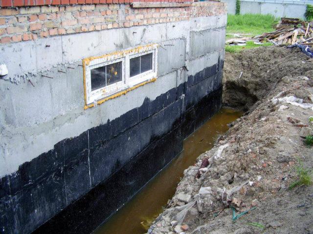 уровень грунтовых вод на земельном участке