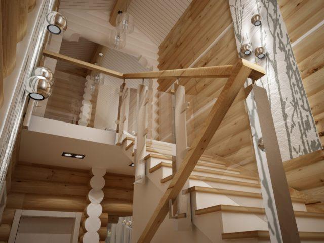 внутренняя отделка дома в стиле хай-тек