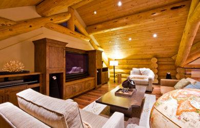 модерн в деревянном доме