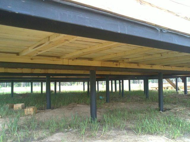 Holzhaus Fußboden Dämmen ~ Wie auf den boden in einem holzhaus isolieren