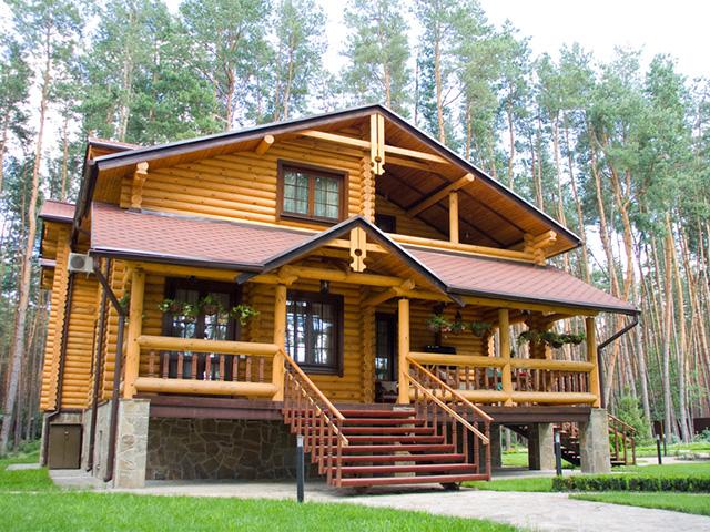 двухэтажный дом с мансардой для большой семьи