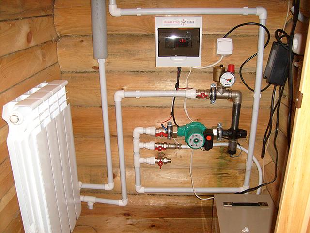 электрический котел отопления для частного дома