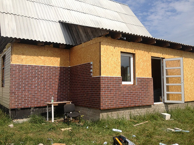 термопанели для утепления деревянного дома