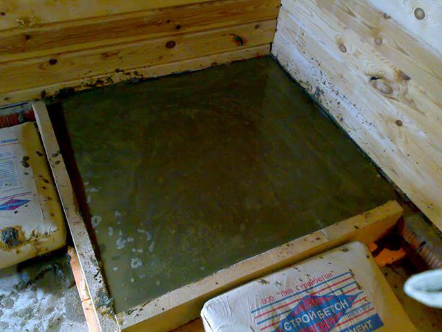 плитный фундамент под металлическую печь