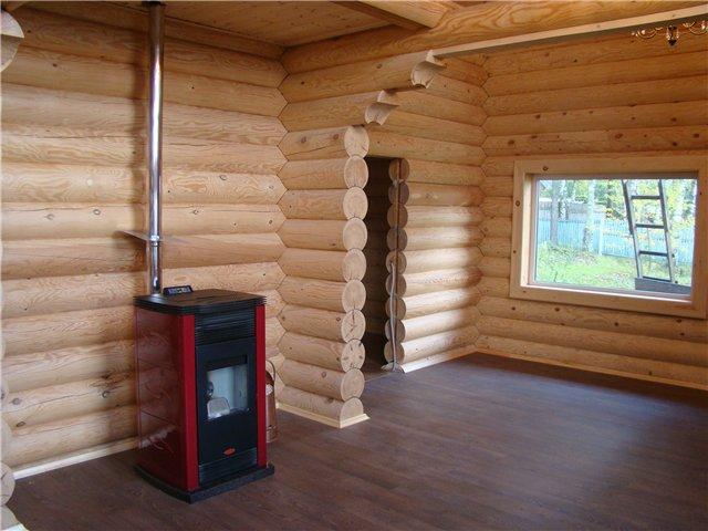 водяное отопление деревянного дома