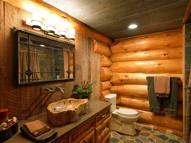 полы для ванной комнаты в деревянном доме