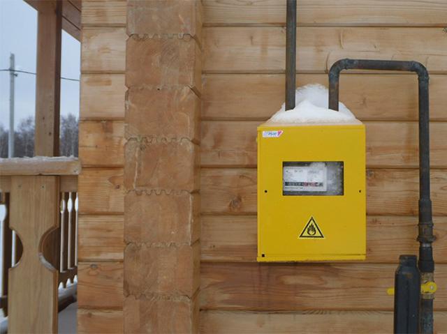 подведение газа к частному дому