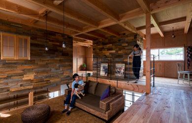 оформление дома в стиле лофт