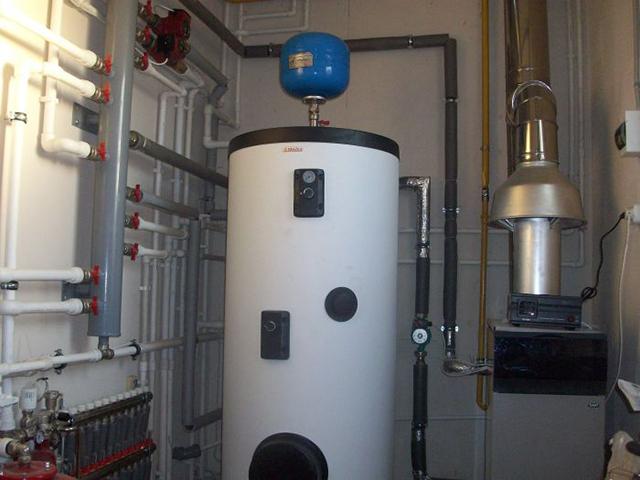 тепловой аккумулятор для отопления частного дома