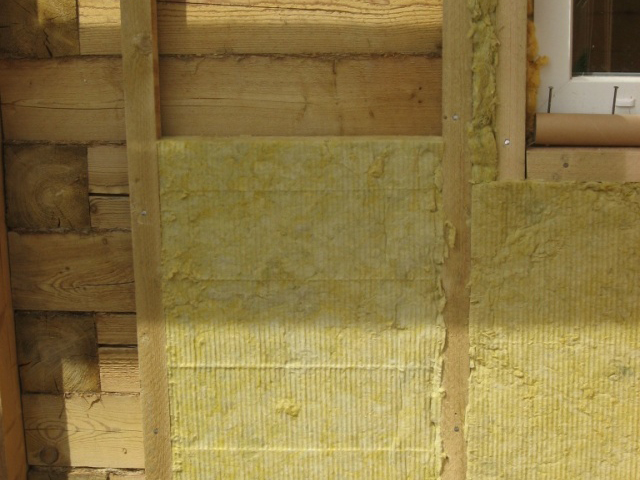 минеральная вата для утепления деревянных домов