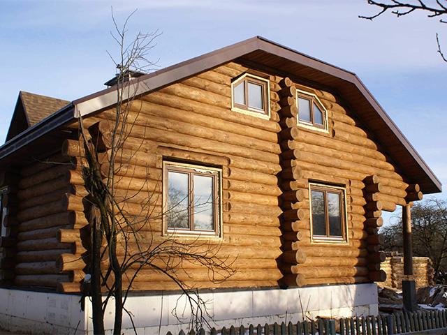 вальмовая крыша для дома с мансардой