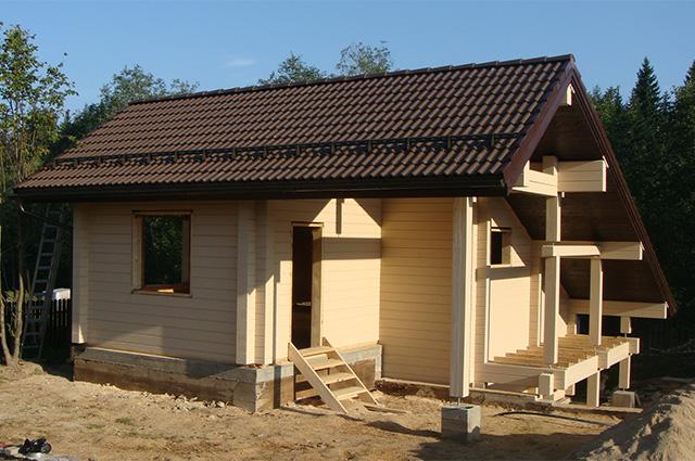разноскатная крыша для дома