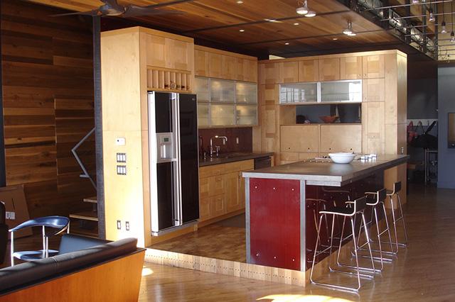 совмещенная кухня-гостиная
